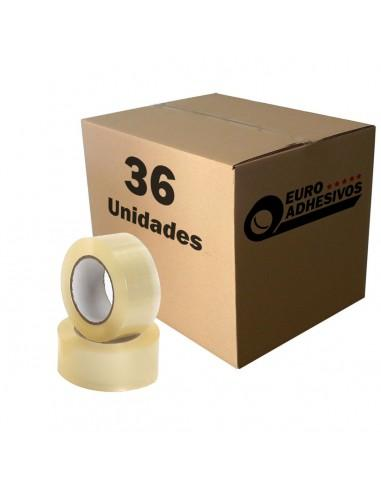 Caja Cinta Adhesiva Solvente 36unds